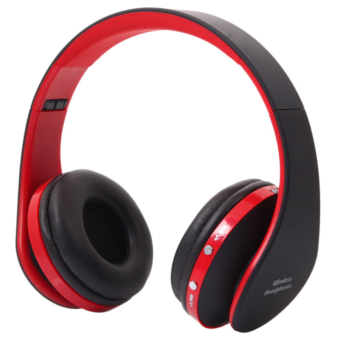NX-8252 Hot Foldable Wireless Stereo Sports Bluetooth Headphone Headset w/ Mic - QSR-Unlimited