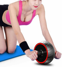 Load image into Gallery viewer, ABS Abdominal Mute Roller Exercise Wheel Core Fitness Muscle Trainer Ab Roller - QSR-Unlimited