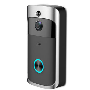 Wireless Smart WiFi DoorBell IR Video Visual Camera Intercom Home Security Kit - QSR-Unlimited