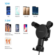 Load image into Gallery viewer, Wireless car Charger Mount, Air Vent Phone Holder, 7.5W & 10W Wireless - QSR-Unlimited