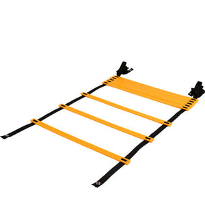 6/12 Rung Agility Ladder for Speed Soccer Football Fitness Feet Training w/Bag - QSR-Unlimited