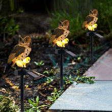 Load image into Gallery viewer, Outdoor Solar Power Garden Lights Owl Decor Path  LED  Light - QSR-Unlimited