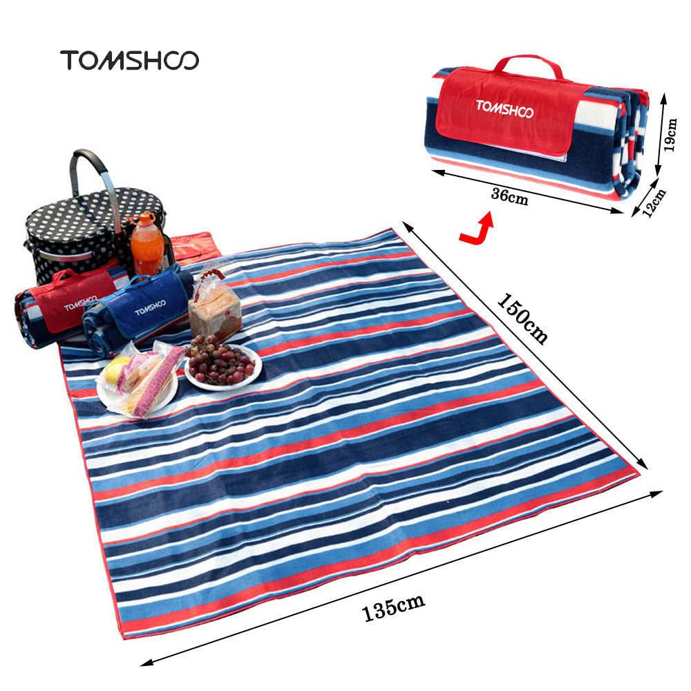 Camping mat outdoor beach picnic tent mat is weatherproof and mildew proof - QSR-Unlimited