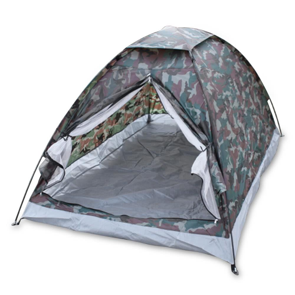 Waterproof, windproof, insect-resistant, easy to disassemble portable double tent - QSR-Unlimited