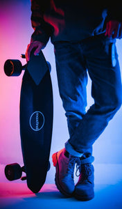 "Maxfind Max2 Pro Electric Skateboard Dual Motor 10.6"" Tire E-scooter - QSR-Unlimited"