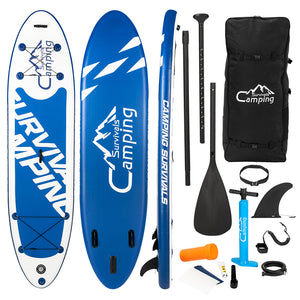 Inflatable Paddle Boards Ultra-Light Stand Up Paddle Board , Surf Board SUP Accessories & Carry Bag XH - QSR-Unlimited