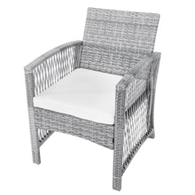 Load image into Gallery viewer, 4 Pieces Outdoor Furniture Rattan Chair & Table Patio Set - QSR-Unlimited