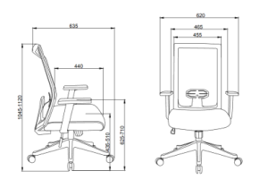 Ergonomic Executive Chair White - QSR-Unlimited