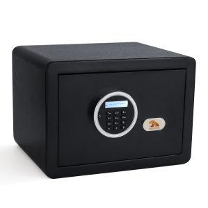 TIGERKING Digital Security Safe Box Fashion Black 1-Cubic-Feet - QSR-Unlimited