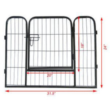 Load image into Gallery viewer, High Quality Portable outdoor folding 16-panel heavy duty metal pet playpen - QSR-Unlimited