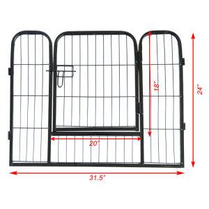 High Quality Portable outdoor folding 16-panel heavy duty metal pet playpen - QSR-Unlimited