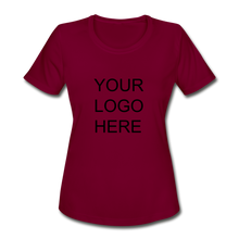 Load image into Gallery viewer, Women's Moisture Wicking Performance T-Shirt - QSR-Unlimited