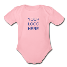 Load image into Gallery viewer, Organic Short Sleeve Baby Bodysuit - QSR-Unlimited