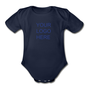 Organic Short Sleeve Baby Bodysuit - QSR-Unlimited
