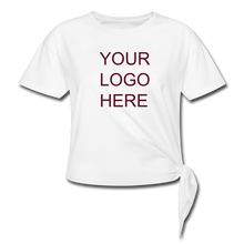 Load image into Gallery viewer, Women's Knotted T-Shirt - QSR-Unlimited