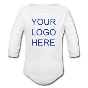 Organic Long Sleeve Baby Bodysuit - QSR-Unlimited