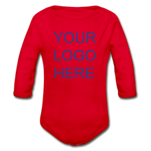 Load image into Gallery viewer, Organic Long Sleeve Baby Bodysuit - QSR-Unlimited