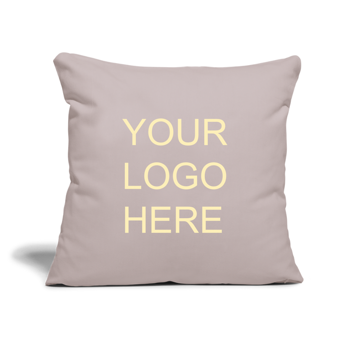 "Throw Pillow Cover 18"" x 18"" - QSR-Unlimited"