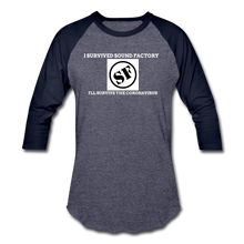 Load image into Gallery viewer, I Survived Sound Factory Baseball T-Shirt - QSR-Unlimited