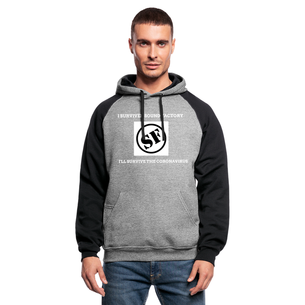 I Survived Sound Factory Colorblock Hoodie - QSR-Unlimited