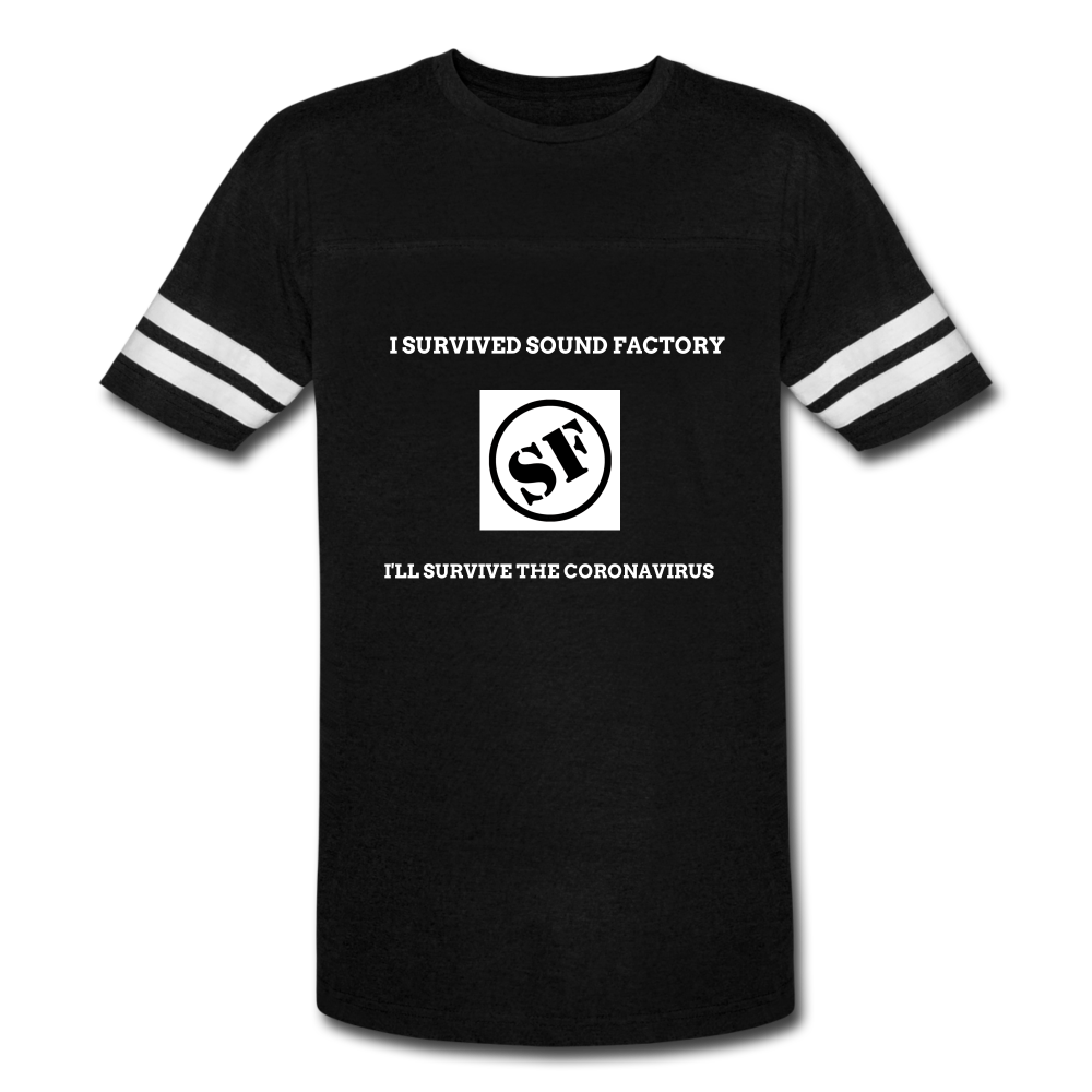 I Survived Sound Factory Vintage Sport T-Shirt - QSR-Unlimited