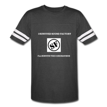 Load image into Gallery viewer, I Survived Sound Factory Vintage Sport T-Shirt - QSR-Unlimited
