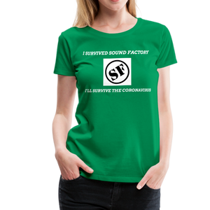 I Survived Sound Factory Women's Premium T-Shirt - QSR-Unlimited