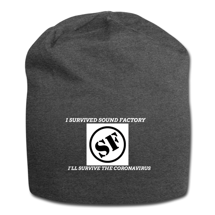 I Survived Sound Factory Jersey Beanie - QSR-Unlimited