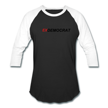 Load image into Gallery viewer, ExDemocrat Baseball T-Shirt - QSR-Unlimited