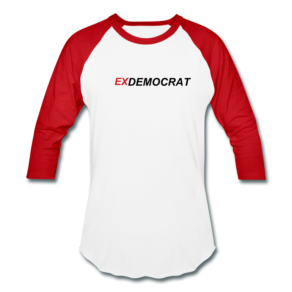 ExDemocrat Baseball T-Shirt - QSR-Unlimited