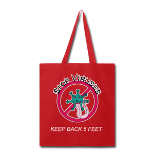 Stop Keep Back 6' Tote Bag - QSR-Unlimited