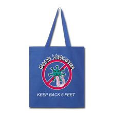 Load image into Gallery viewer, Stop Keep Back 6' Tote Bag - QSR-Unlimited