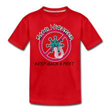Load image into Gallery viewer, Stop Keep Back 6' Kids' Premium T-Shirt - QSR-Unlimited