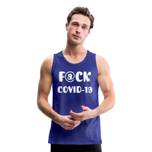 F@CK Covid-19 Men's Premium Tank - QSR-Unlimited