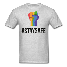 Load image into Gallery viewer, #StaySafe Men's T-Shirt - QSR-Unlimited