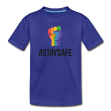 Load image into Gallery viewer, #StaySafe Kids' Premium T-Shirt - QSR-Unlimited