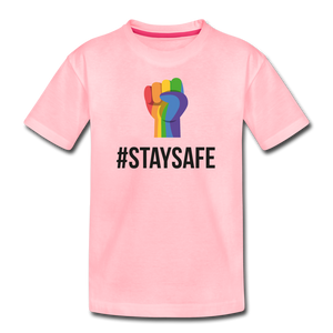 #StaySafe Kids' Premium T-Shirt - QSR-Unlimited