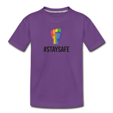 Load image into Gallery viewer, #StaySafe Toddler Premium T-Shirt - QSR-Unlimited