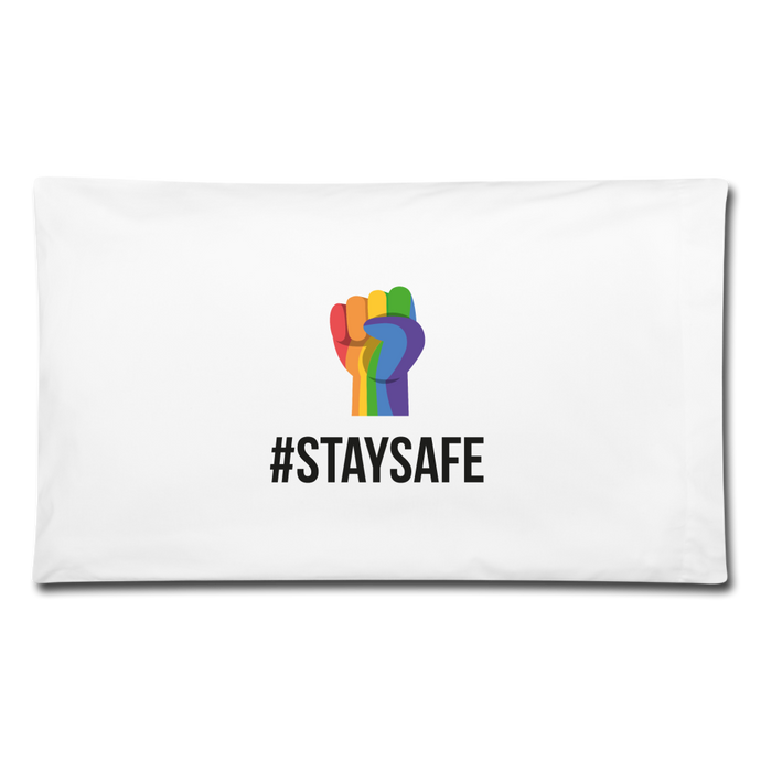 #StaySafe Pillowcase 32'' x 20'' - QSR-Unlimited