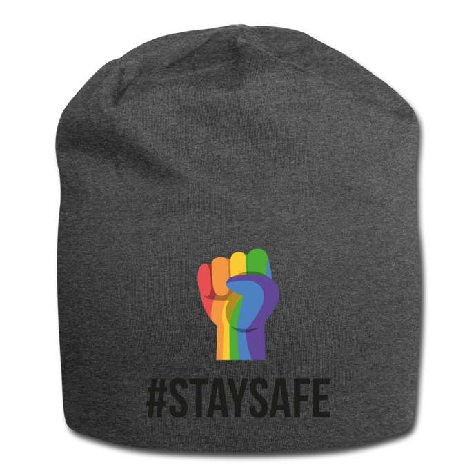 #StaySafe Jersey Beanie - QSR-Unlimited