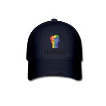 Load image into Gallery viewer, #StaySafe Baseball Cap - QSR-Unlimited
