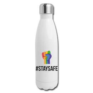 #StaySafe Insulated Stainless Steel Water Bottle - QSR-Unlimited