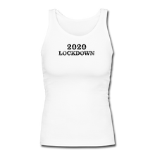 Load image into Gallery viewer, 2020 Lockdown Women's Longer Length Fitted Tank - QSR-Unlimited