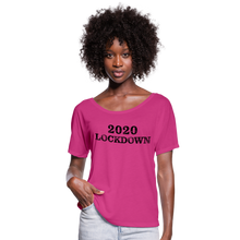 Load image into Gallery viewer, 2020 Lockdown Women's Flowy T-Shirt - QSR-Unlimited