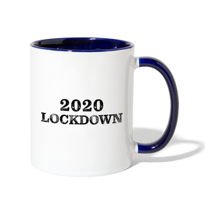 2020 Lockdown Contrast Coffee Mug - QSR-Unlimited