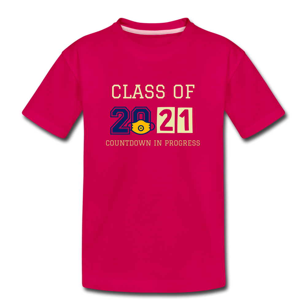 Class of 2021 Kids' Premium T-Shirt - QSR-Unlimited