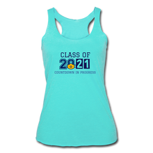 Load image into Gallery viewer, Class of 2021 Women's Tri-Blend Racerback Tank - QSR-Unlimited