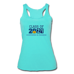 Class of 2021 Women's Tri-Blend Racerback Tank - QSR-Unlimited