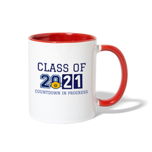 Load image into Gallery viewer, Class of 2021 Contrast Coffee Mug - QSR-Unlimited