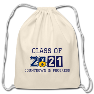 Class of 2021 Cotton Drawstring Bag - QSR-Unlimited